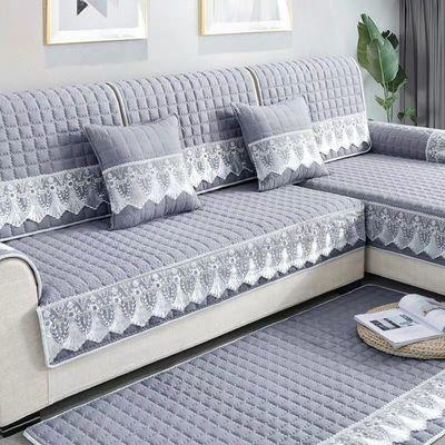 沙发垫四季通用布艺欧式简约现代通用坐垫沙发套全包万能套罩巾