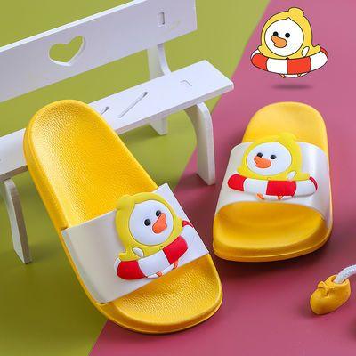 儿童拖鞋男童夏季小孩卡通可爱家居鞋宝宝室内防滑浴室洗澡凉拖鞋