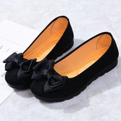 单鞋一脚蹬女单沙滩鞋帆布鞋黑色鞋鞋女女单鞋学生豆豆软底女鞋