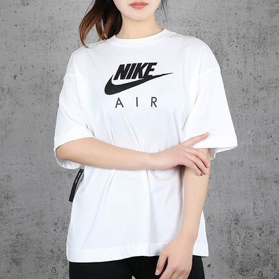 NIKE耐克女装2020夏季新款大logo运动休闲短袖圆领半袖T恤CJ3106
