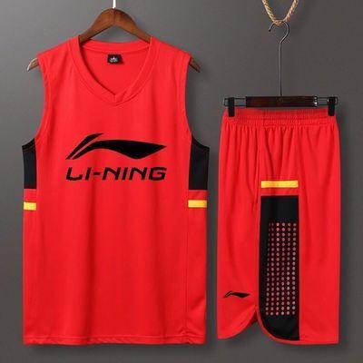 新款篮球服套装男女一战成名大学生训练比赛队服背心团购球衣定制