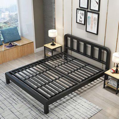 包邮欧式铁艺床1.8米双人床1.5米单人床地中海公主床铁架床铁床架
