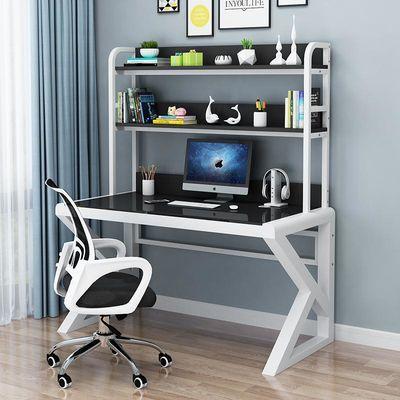 电脑桌台式家用简约现代经济型办公桌钢化玻璃学习游戏电竞桌书桌