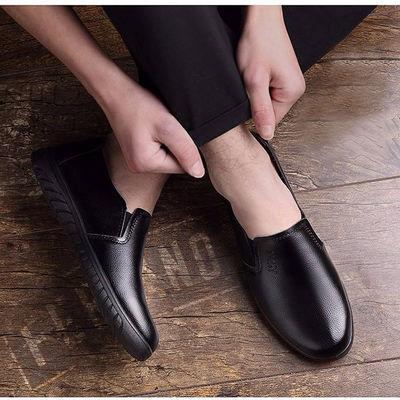 男士夏季潮流镂空皮鞋男鞋商务休闲凉皮鞋透气软底英伦爸爸鞋