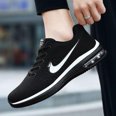 男士运动鞋夏季跑步鞋时尚休闲鞋男2018新款潮鞋百搭气垫防臭透气