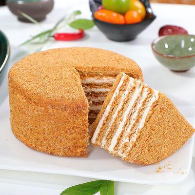 【一箱6个装】俄罗斯风味提拉米苏蛋糕千层奶油生日糕点面包食品