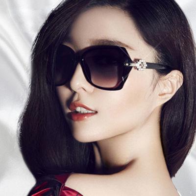 2020新款女士太阳镜韩版防紫外线墨镜复古长脸圆脸司机开车眼镜