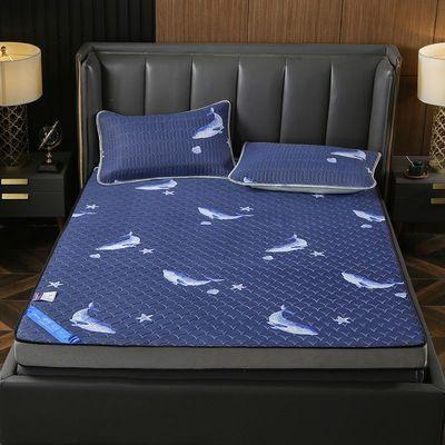 天然乳胶床垫泰国原装进口1.8m床橡胶5cm席梦思乳胶垫1.5米儿童软