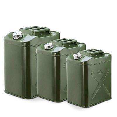 加厚汽油桶30升20升10升5l柴油桶铁加油罐汽车摩托车备用油箱50升