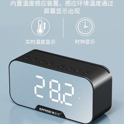 家用学生用充电款北欧风格电子闹钟静音床头简约女生宿舍夜光声音