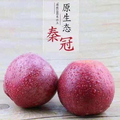 陕西秦冠老树丑粉苹果3-5-10斤当季新鲜水果整箱宝宝辅食非红富士