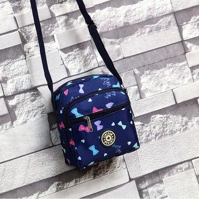 包包女2020新款竖款手机包斜挎包多层小包上街游玩小背包零钱包