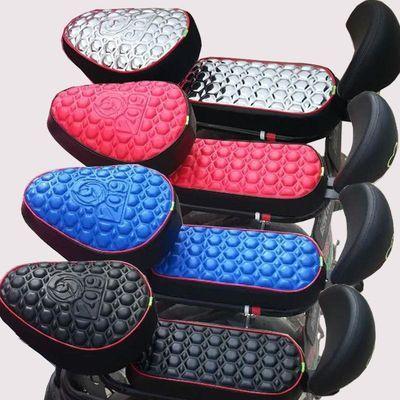 电动车坐垫套自行车摩托车座套防水防晒电瓶车坐垫通用座套
