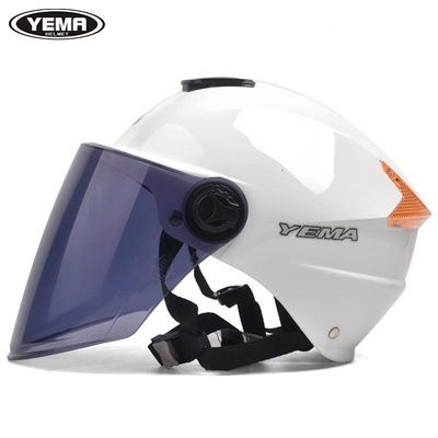 野马335电动车头盔夏季男女防晒防紫外线安全帽轻便式半盔