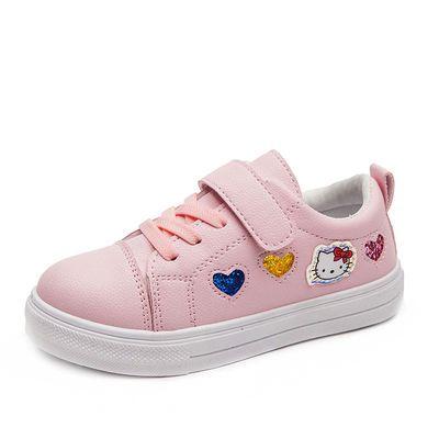 热销儿童小白鞋2020年春季新款女童防滑运动鞋学生鞋韩版男童休闲