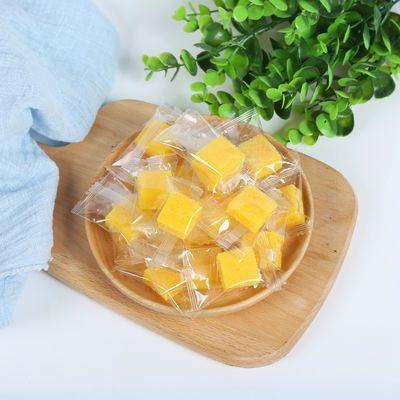网红零食芒果软糖独立包装榴莲味蓝莓味椰子软糕散装零食糖果批发
