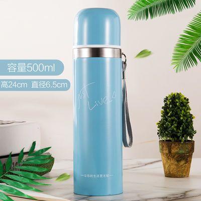 新款304不锈钢保温杯大容量男女学生儿童水壶韩版创意卡通户外水