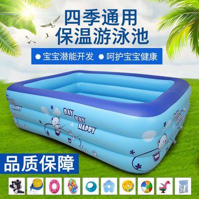 儿童婴儿游泳池充气超大加厚宝宝小孩成人游泳池家用浴桶洗澡盆儿