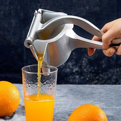 不锈钢手动榨汁机柠檬家用甘蔗压汁器神器橙汁迷你水果汁机榨汁器