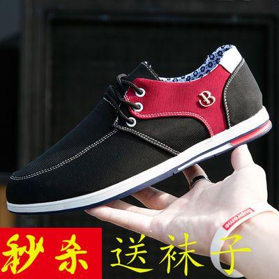 2020男士新品老北京帆布鞋千层底夏季防臭布鞋韩版潮流百搭休闲鞋