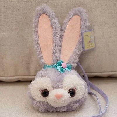 洛丽塔包包史黛拉兔包卡通毛绒斜挎包芭蕾兔卡包零钱包背包钥匙包