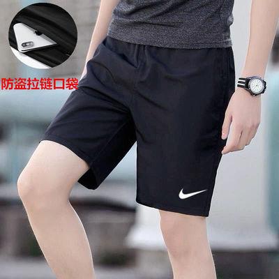 34101/夏季运动短裤男宽松大码休闲跑步五分裤青年健身冰丝弹力速干短裤
