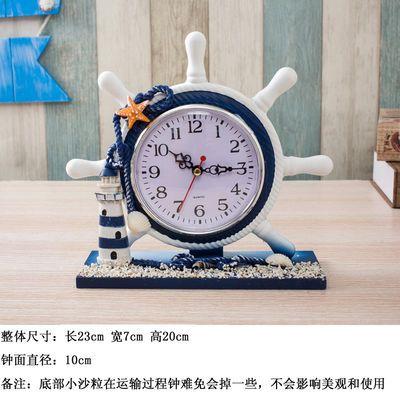台式钟表摆件客厅卧室床头座钟欧式办公桌面个性家用新款创意时钟