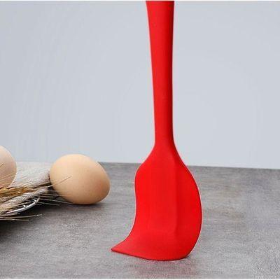 硅胶刮刀大号搅拌刀烘焙工具一体式抹刀奶油刀铲刀蛋糕刀欧乐多