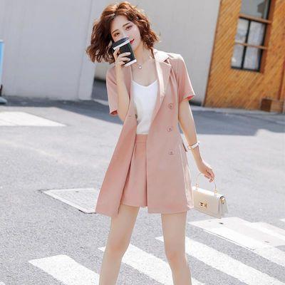 西装短裤套装女夏2020新款韩版职业洋气质时尚小香风西服两件套女