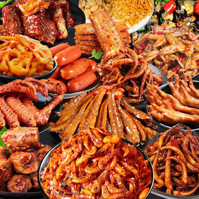热卖零食大礼包便宜整箱休闲网红猪饲料零食批发送男女朋友生日礼