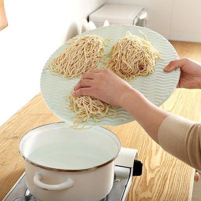 家用可折叠饺子托盘包饺子的盖帘厨房不粘餐垫面食水饺包子放置盘