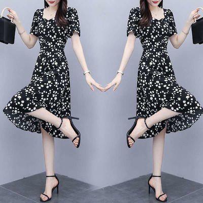 新款连衣裙仙女裙装显瘦修身大码女连衣裙