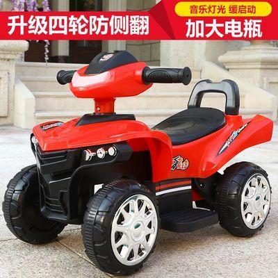 儿童电动车四轮越野车汽车可坐人带遥控男女宝宝小孩童车充电玩具