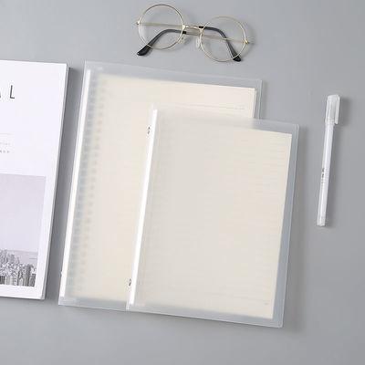 送贴纸活页笔记本本子B5网格本横线本英语本可拆卸A5活页本手账本
