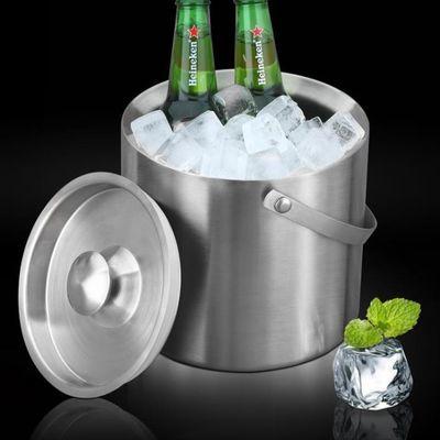 不锈钢冰桶家用保温桶装冰块冷藏箱欧式香槟桶KTV酒吧冰镇啤酒桶