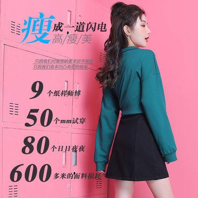爆款蕾丝边韩版高腰牛仔裙半身裙子网红新款宽松显瘦包臀a字短裙