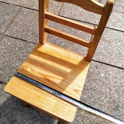 热销儿童靠背小椅子实木小板凳换鞋凳子杉木矮凳沙发椅成人学生靠