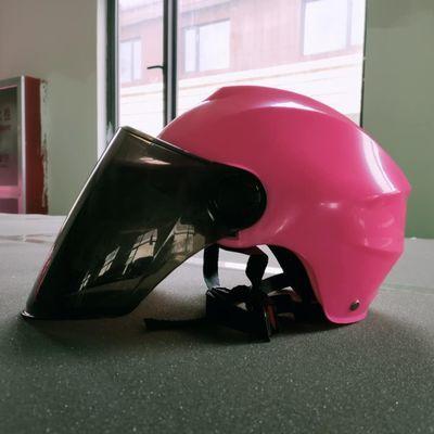 厂家直销电动摩托车头盔男电瓶车头盔女士成人四季半盔夏季安全帽