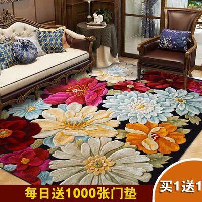 欧式地毯客厅家用地毯卧室满铺沙发茶几垫大面积进门垫脚垫地垫