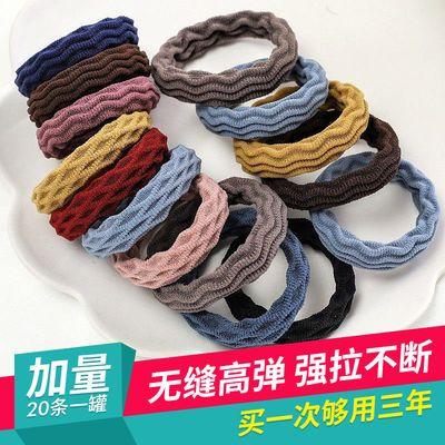 网红韩版简约高弹力发圈套装头绳女成人扎头发橡皮筋无缝发绳头饰