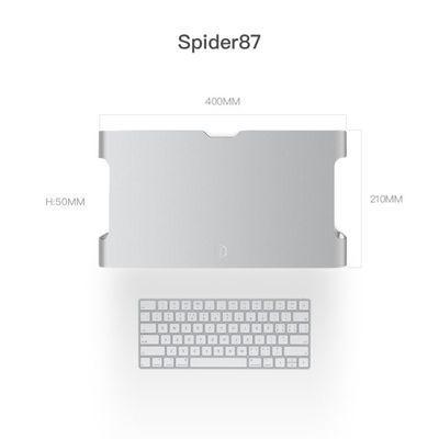 iQunix电脑显示器办公台式桌面增高架键盘收纳垫高置物架底座支架