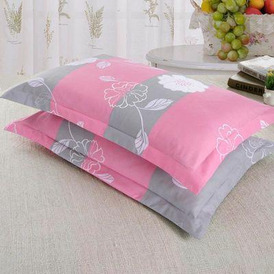 情侣枕套单个一只装套子枕一个宿舍信封式枕头套单人枕皮不含枕芯