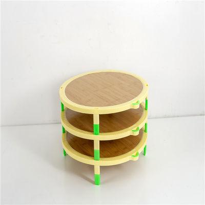 爆款可叠加饺子帘圆形竹子盖垫水饺面食餐垫盖帘放饺子的托盘饺子