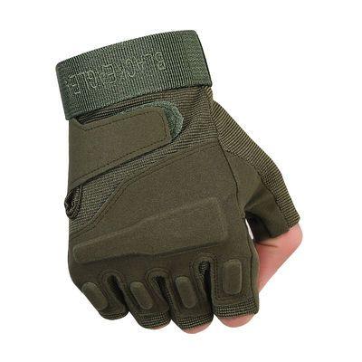家用运动半指手套男军秋冬特种兵户外用战术手套健身防滑骑行手套