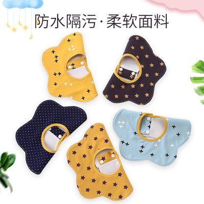 口水巾防水纯棉宝宝吃饭围兜新生儿童饭兜夏季婴儿用品围嘴食饭兜