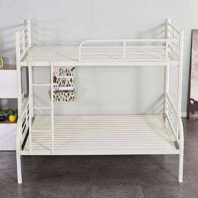 成人上下铁艺子母床双人床上1.21.5高低床上下铺铁架床欧式双层床