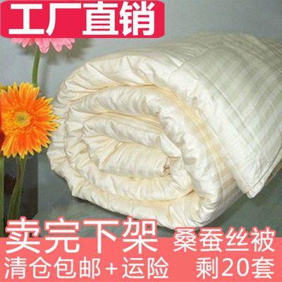 【特价清仓】桐乡100%桑蚕丝被子母被纯手工被芯春秋夏凉冬被定制