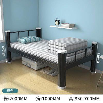 热销双层床铁床上下铺铁床铁艺床高低床铁架子床学生宿舍床工地双