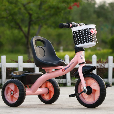 爆款儿童三轮车脚踏车幼儿手推车2-6岁大号男女孩脚蹬单车儿童自