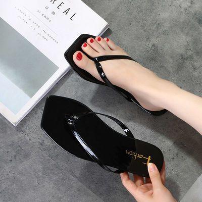 人字拖女夏季海边沙滩鞋女士凉拖鞋女夏学生韩版外穿防滑2020新款